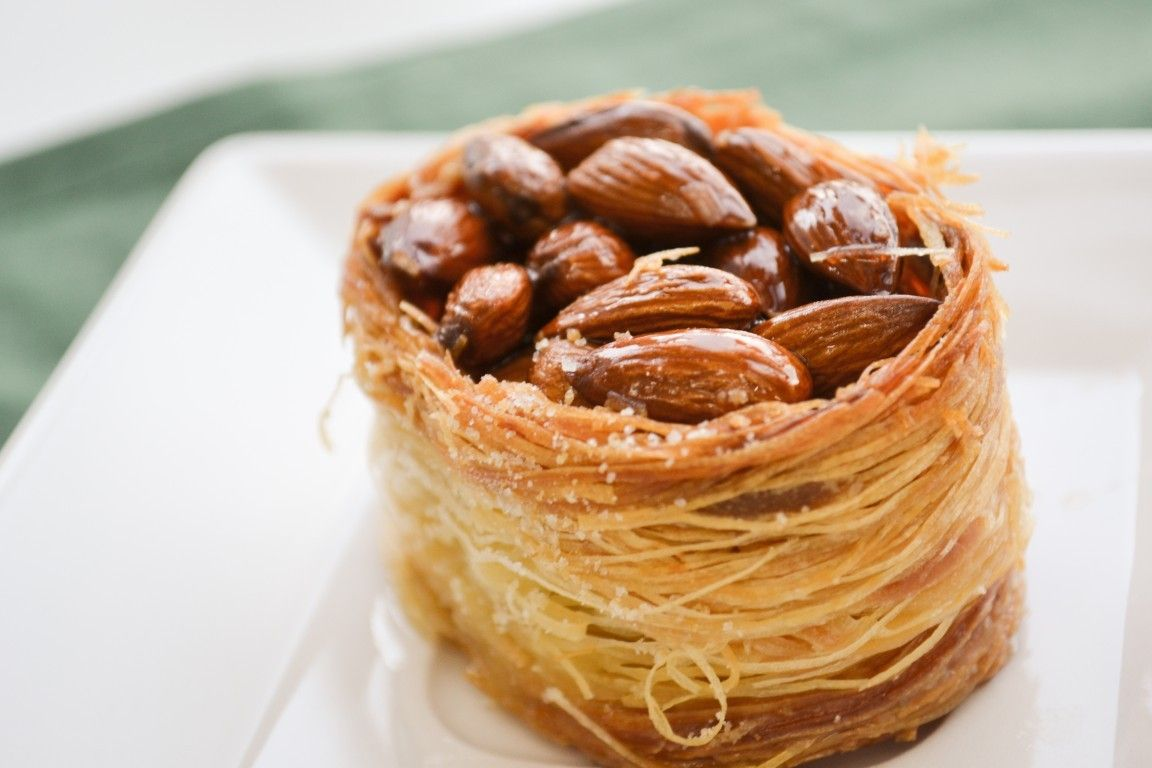 Ninho De Amendoas Receita Doces Arabes Receitas Doces E Receitas