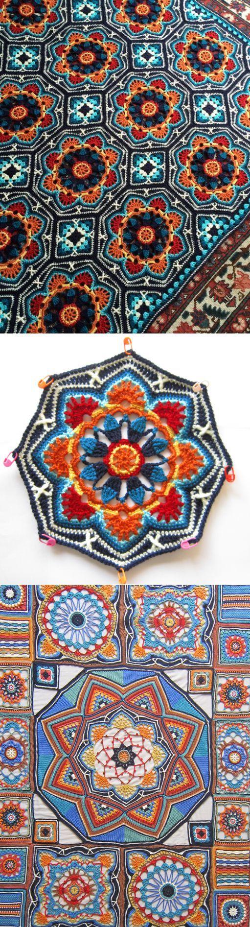 Las mantas | Puntadas de crochet | Pinterest | Häkeln, Decken und ...