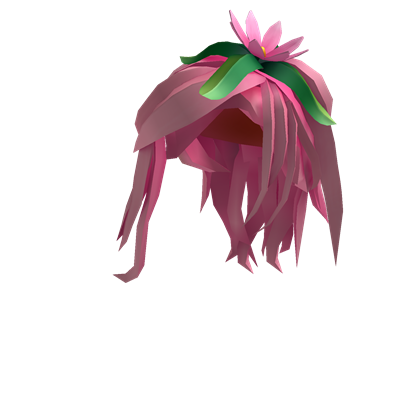 Pink Flower Princess Hair Roblox Princess Hairstyles Pink Flowers Pink