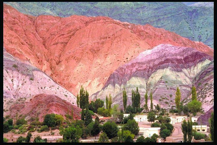 Magic Quebrada de Humahuaca, Jujuy ... see the color of nature!