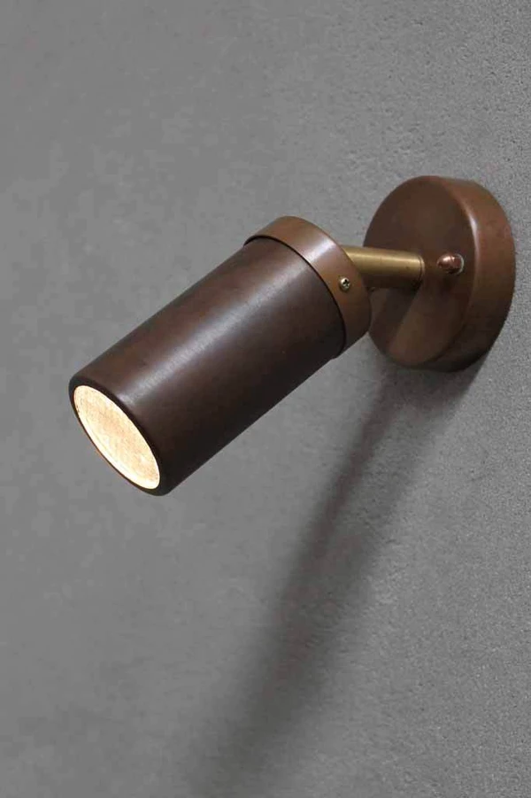 Middy Copper Led Adjustable Wall Light Wall Lights Adjustable Wall Light Copper Lamps