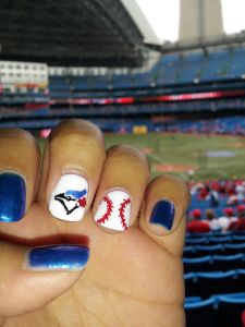 Blue Jay Nails Need Braves A Though