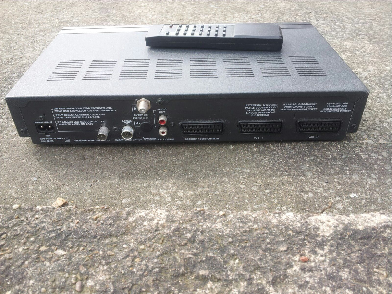 Ferguson Srd 16 Satellite Receiver Goodmans St700 Analogue
