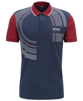 4c162808 BOSS Men's Paddy Pro 2 Regular-Fit Polo Shirt in 2019 | Products ...
