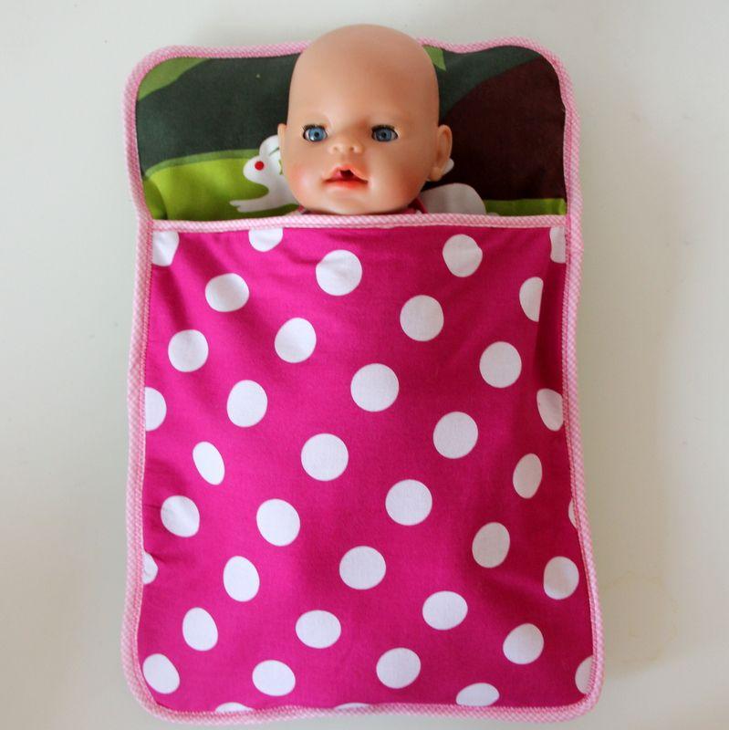 Puppenschlafsack selbst genäht   Spielzeug   Pinterest ...