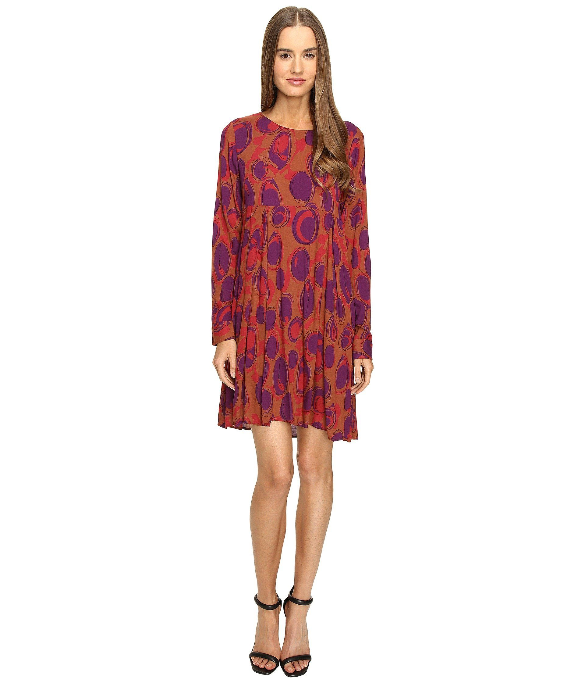 0e75f0f33abb MANILA GRACE Printed Long Sleeve Dress.  manilagrace  cloth ...