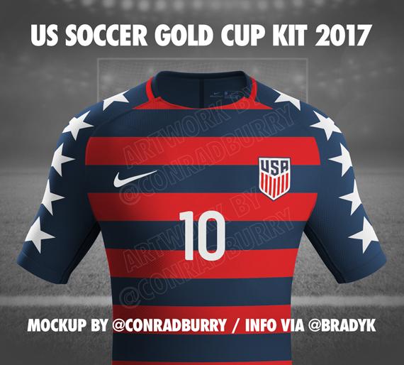 timeless design 5048a 8522b New 2017 USMNT Gold Cup Jerseys. Stars and Stripes Kit ...