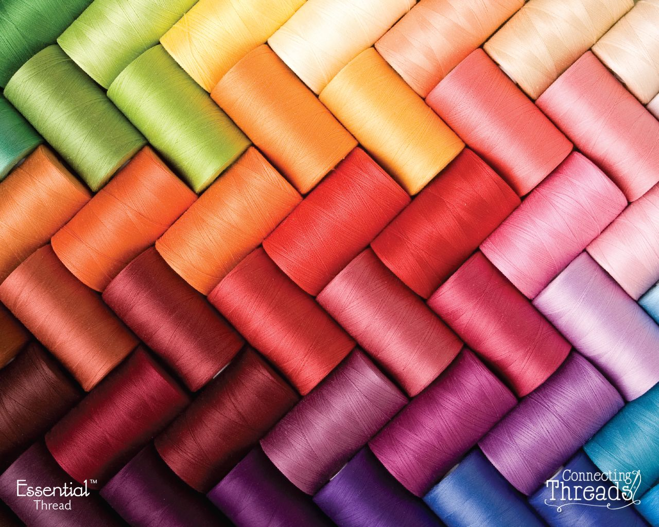 "Wonderful colors - Threads from ""Connecting Threads"" on ..."