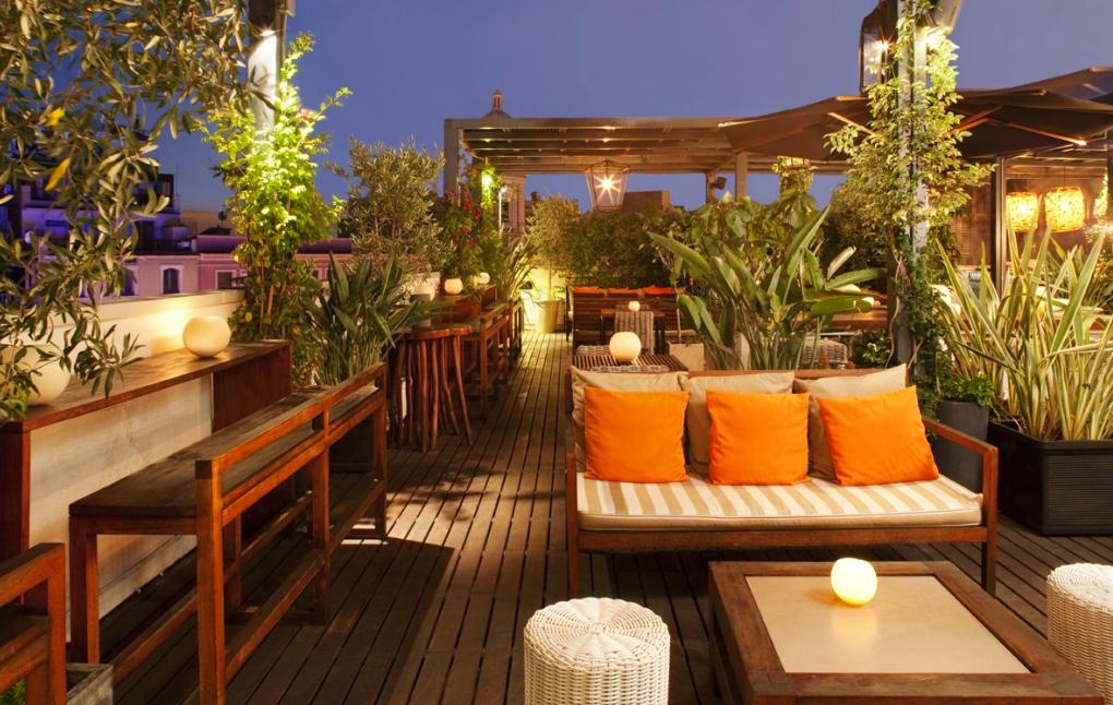 Serendipitylands Terrazas En Hoteles De Barcelona Restaurante Al Aire Libre Restaurante Exterior Terrazas