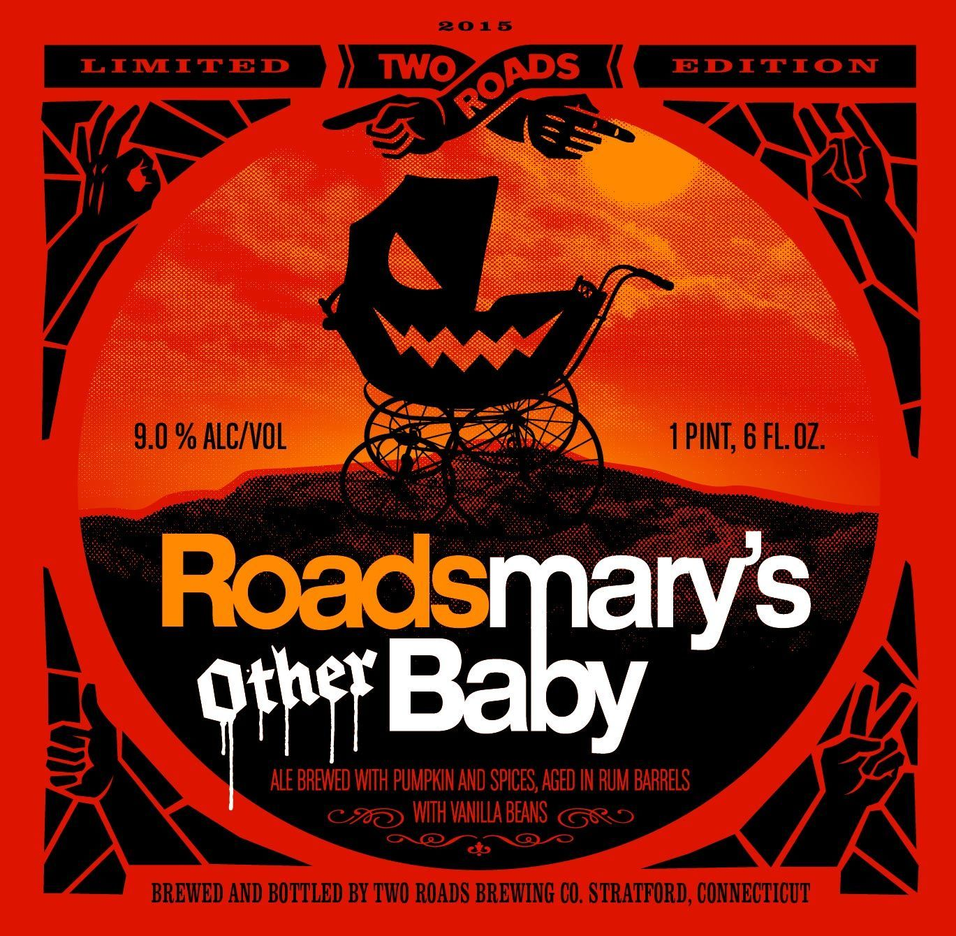 Two Roads Roadsmary S Other Baby Brewing Co Craft Beer Labels Pumpkin Beer