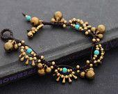 Chandelier Turquoise Bracelet. $9.00, via Etsy.