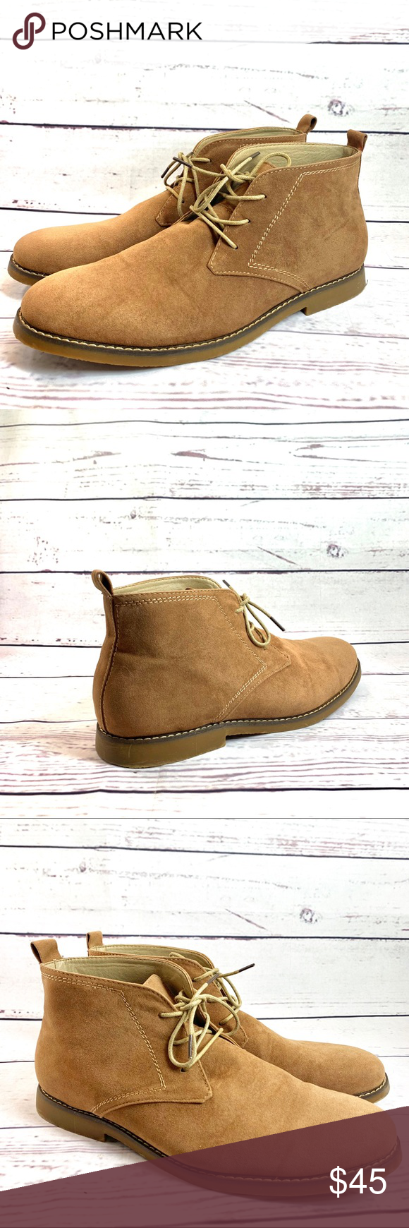 1196e39d3 Miko Lotti Men's Lace up Ankle Chukka BOOTS Condition: Pre- Owned in  excellent condition Lotti Bf1302 Men's Lace up Casual Fashion Ankle Chukka  boots.