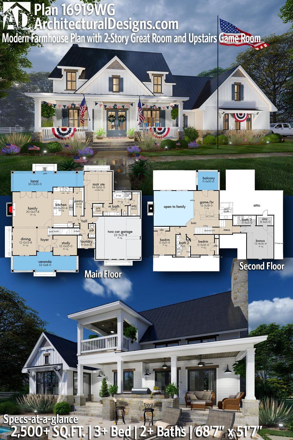 43++ Modern farmhouse plans 2 story best