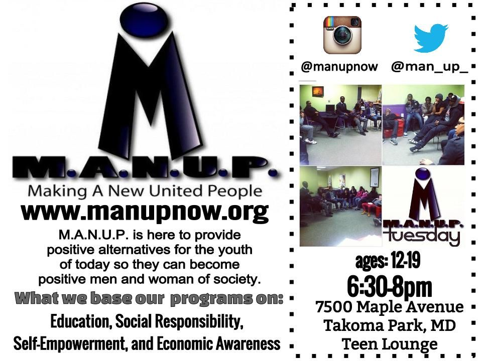 Join us youth of today man up social responsibility
