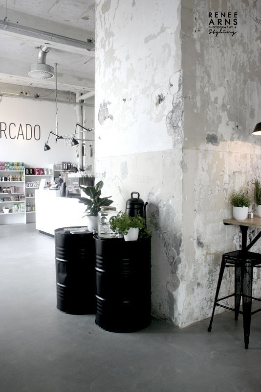15+ Inspiring Industrial Interior Black Ideas #vintageindustrialfurniture