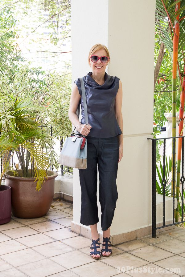 Throwback Thursday: wearing capris, stye star Pamela and discovering your own unique style!| 40plusstyle.com