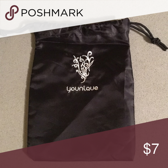 Younique Drawstring Bag Bags, Drawstring bag, Small bag