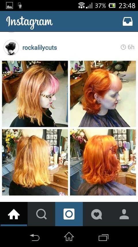 Crazy but brillant colour combination by @rockalily
