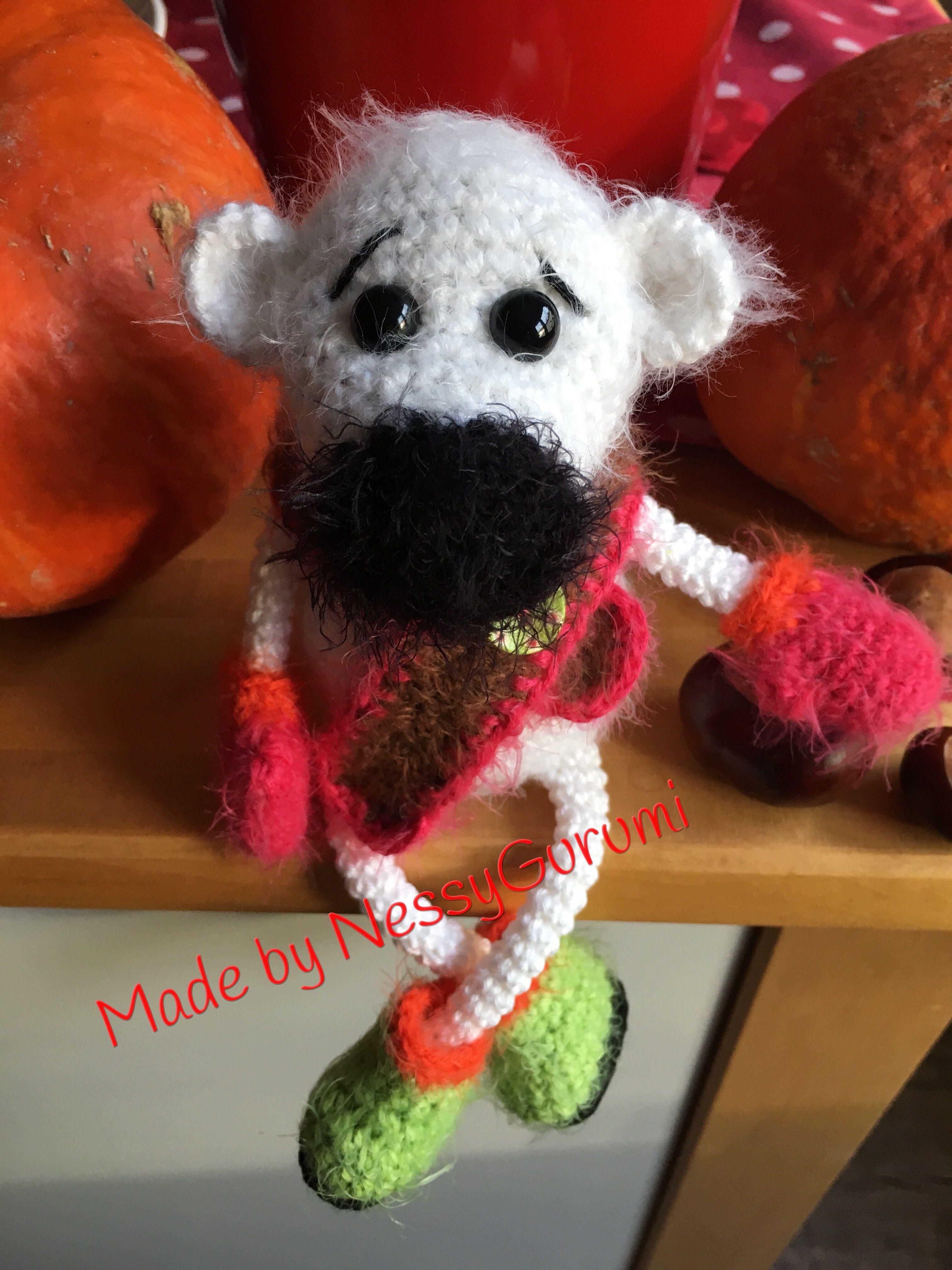 Eisbär, gehäkelt, polar bear, crochet | NessyGurumi | Pinterest | Häkeln