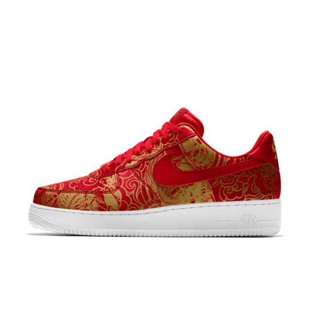 best authentic bc8bd ed7f9 Nike Air Force 1 Low Premium Lunar New Year iD Men s Shoe