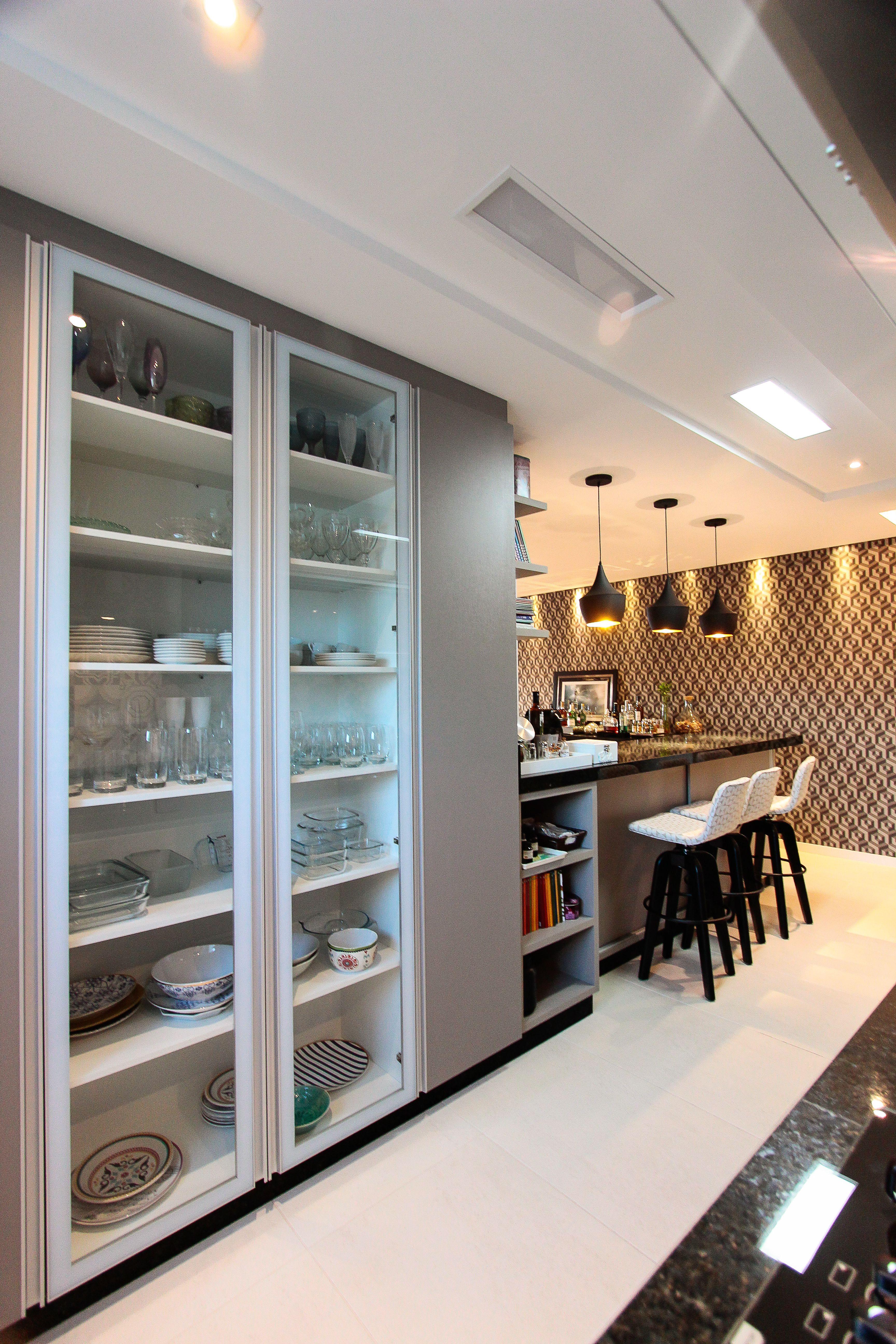 Sala Cozinha Sala Bem Gostosa Com Cozinha Junto Bancada Em  ~ Mansões Por Dentro Cozinha