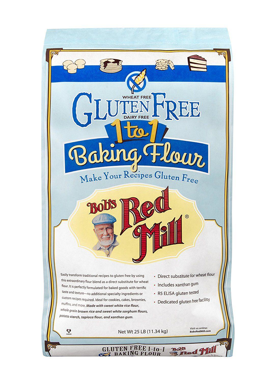 Bobs red mill gluten free 1to1 baking flour 25 pound