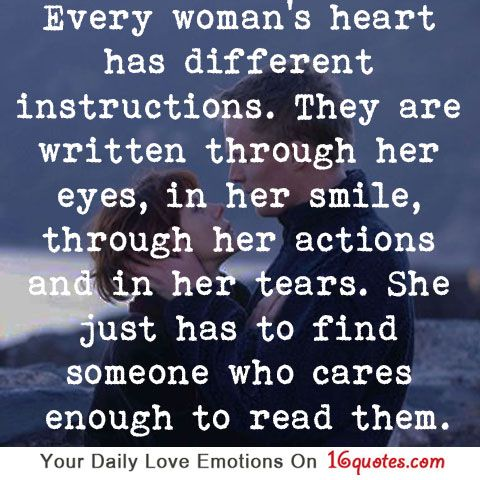 Every Woman S Heart Has Different Instructions Finding Love Quotes Relationship Quotes Quotes And Notes