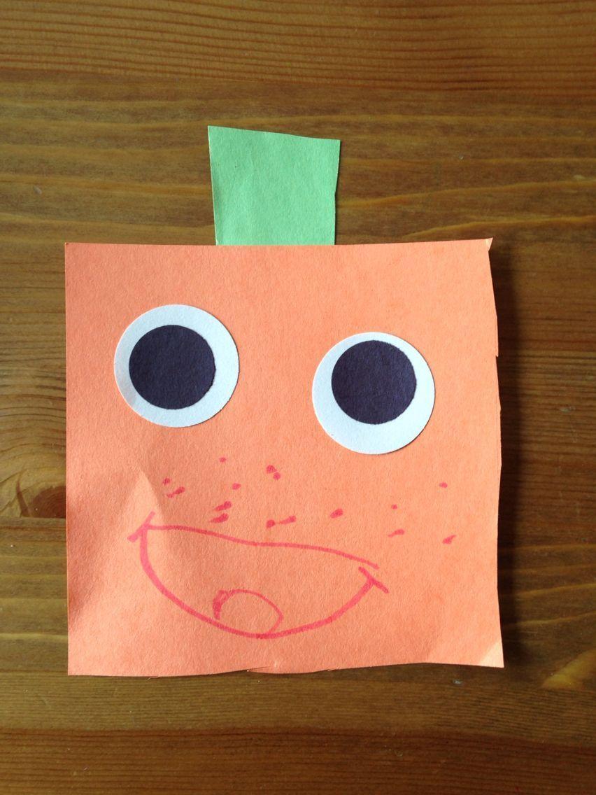 Spookley the Square Pumpkin Craft – Halloween Craft – Preschool Craft #pumpkincr…