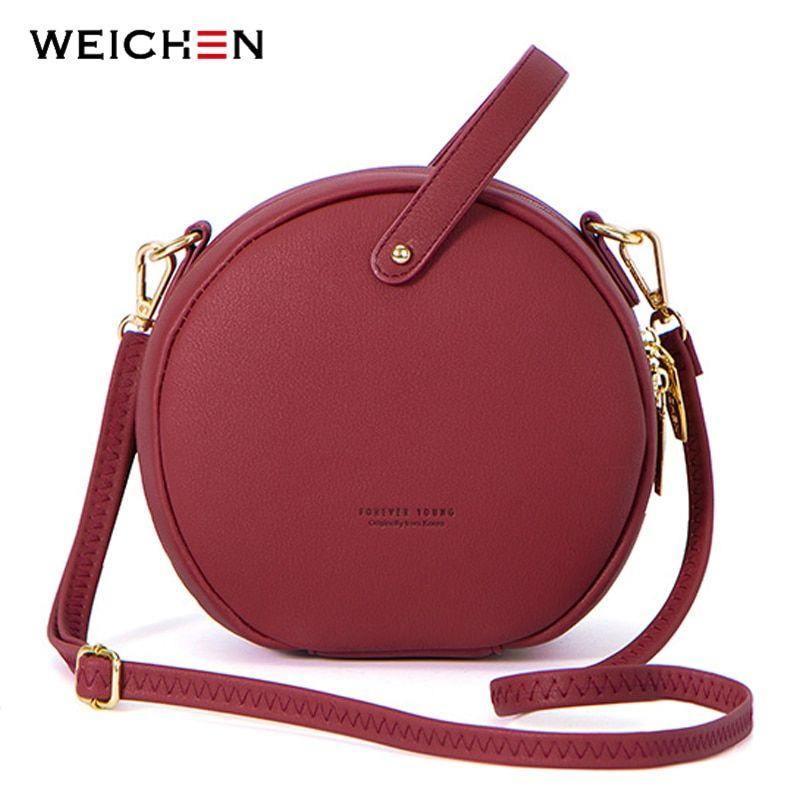 416a8e4155 2018 Circular Design Fashion Women Shoulder Bag Leather Women's ...