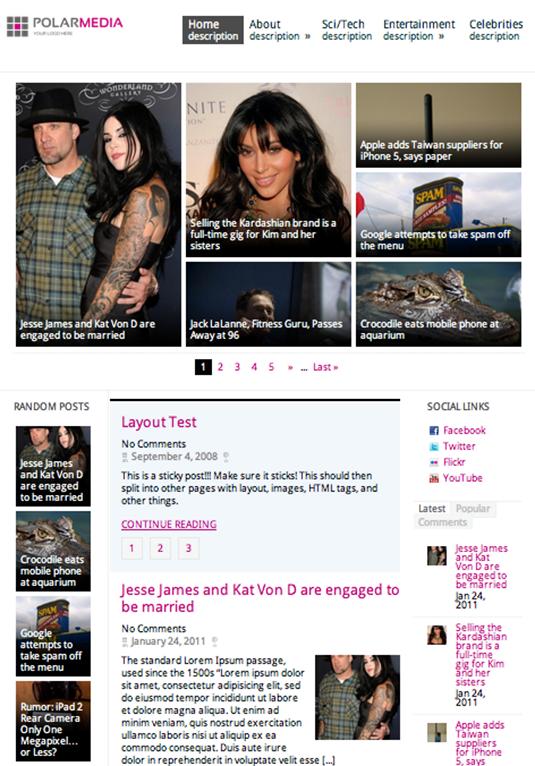 37 best free WordPress themes | Pinterest