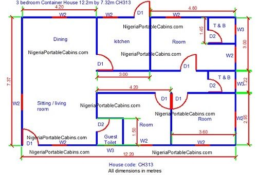 Free shipping container house plans nigeria download - Shipping container home design kit download ...