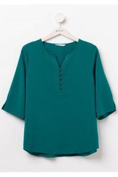 Defacto Kadin Buyuk Beden Onu Dugmeli Bluz Https Modasto Com Defacto Kadin Ust Giyim Gomlek Bluz Br2155ct4 Bluz Bluz Modelleri Bluz Tasarimlari