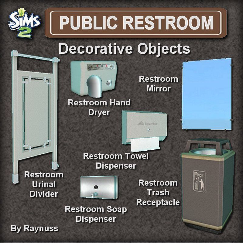 Bathroom Stall Sims 4 imagine that!: the public restroom set   sims 2 retail stuff