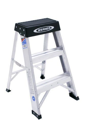 Werner 150b 300 Pound Duty Rating Aluminum Step Stool 2 Foot By Werner 36 64 From The Manufacturer This 2 Foot Step Stool Step Ladders Stool