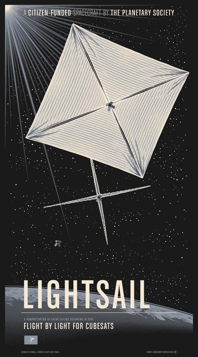 LightSail: A Revolutionary Solar Sailing Spacecraft by Bill Nye, CEO, The Planetary Society — Kickstarter