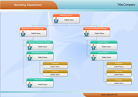 Lots Of Organization Chart Examples Created By Edraw Hr