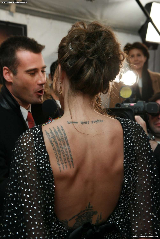 13+ Best Angelina jolie tattoos back ideas in 2021