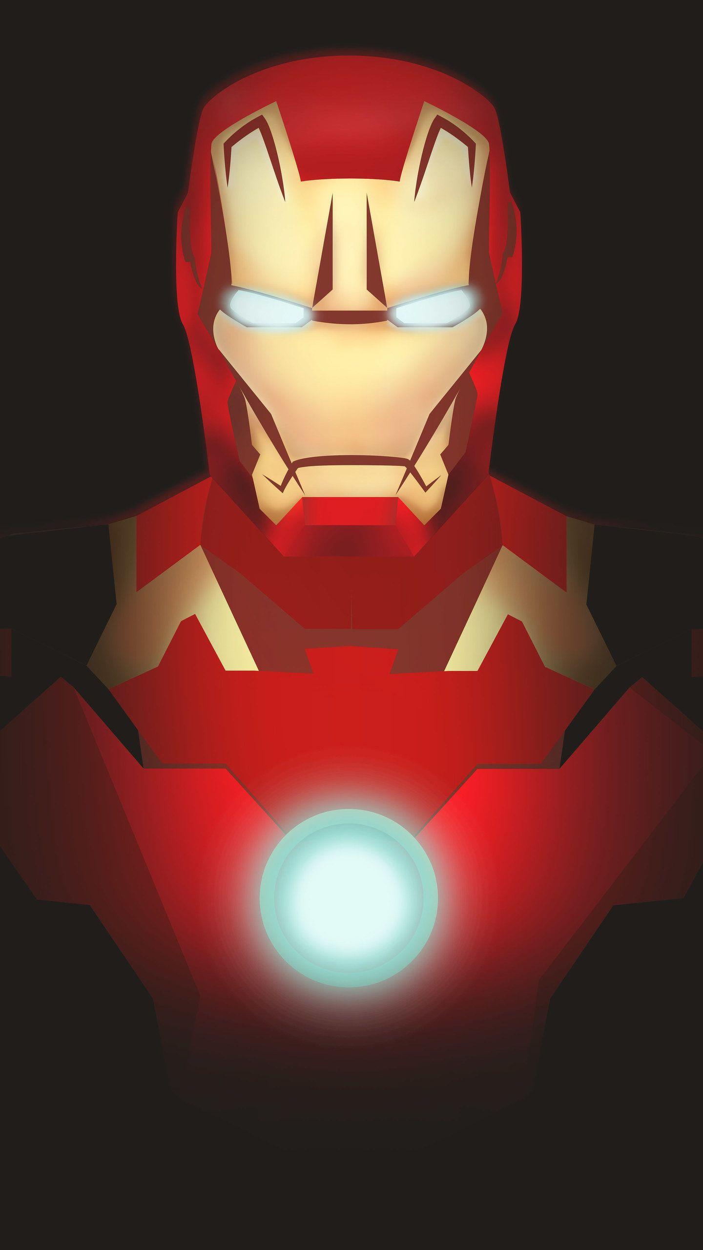 Iron Man Illustration HD Wallpaper Iron man wallpaper