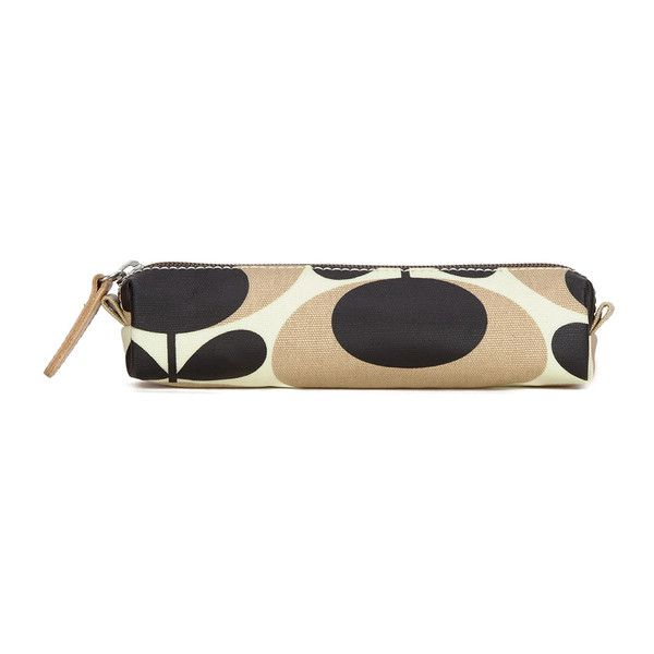 Orla Kiely Women's Stem Cosmetic Case - Nude (€21) ❤ liked on Polyvore featuring beauty products, beauty accessories, bags & cases, cosmetic purse, travel bag, make up bag, toiletry kits and travel kit