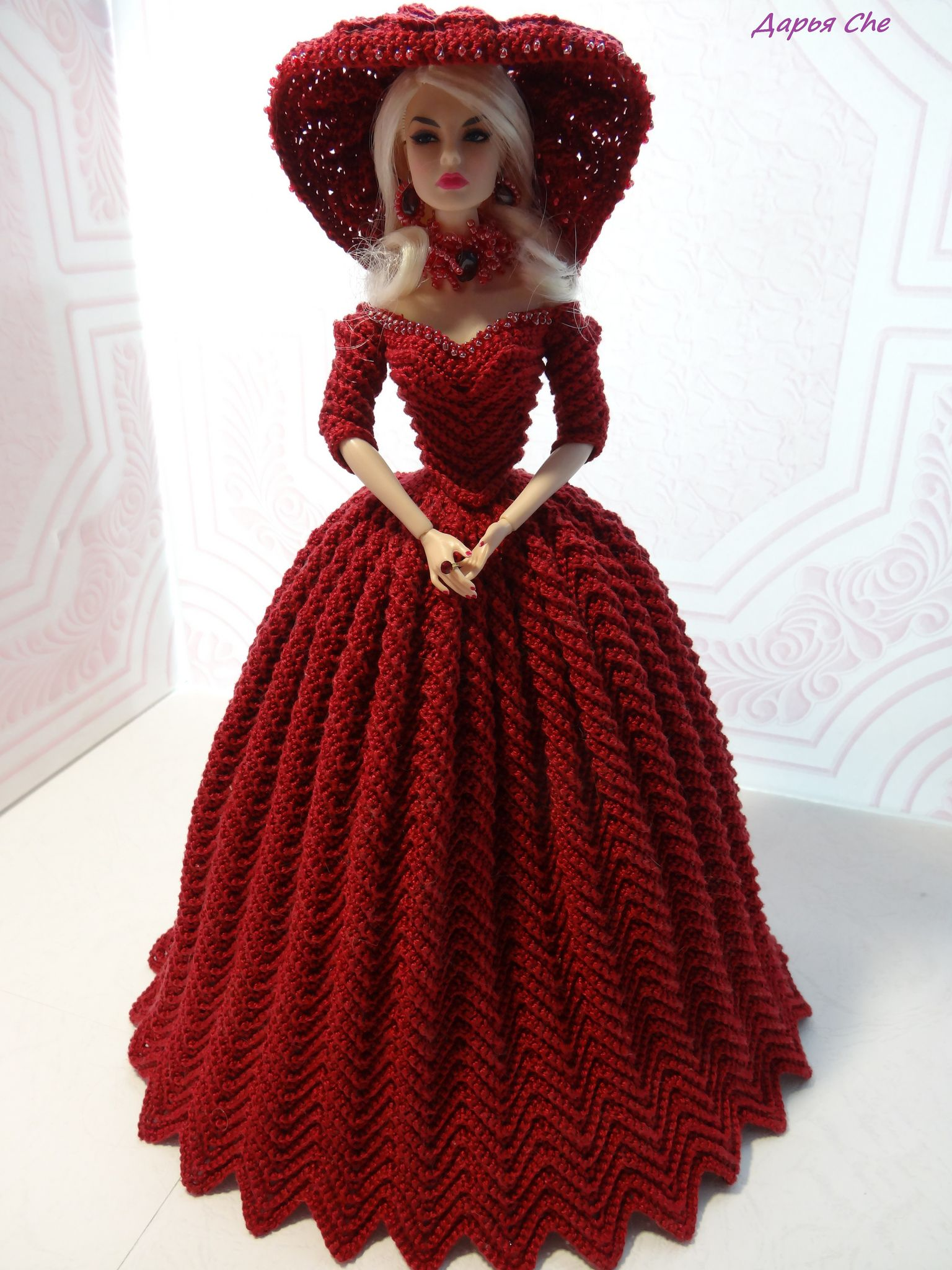 https://flic.kr/p/j1pKWx | 187 | Knit & Crochet: Barbie\'s clothes p ...