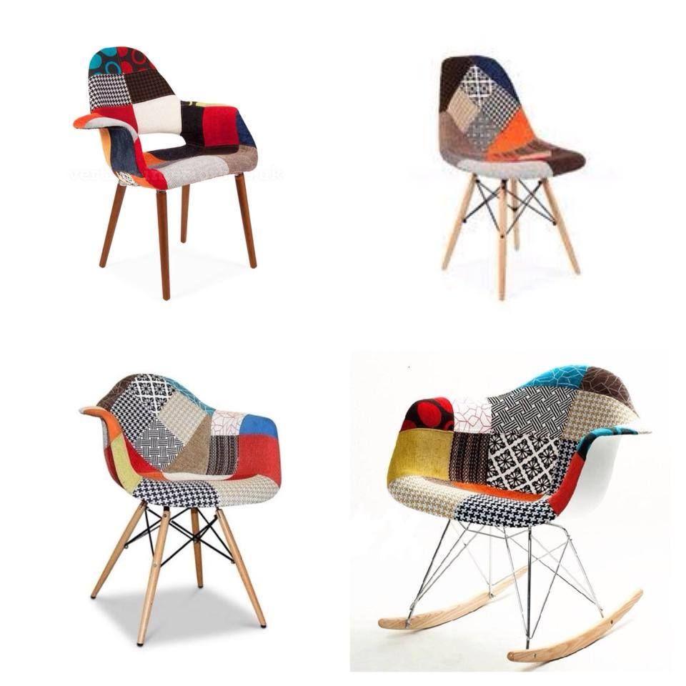 Agrega #color y #diseño a tus #espacios con la linea #Eames #Style #Patchwork! DIVINAS! La tenemos en #Fauna, #Honduras 4646, #Palermo #Soho.