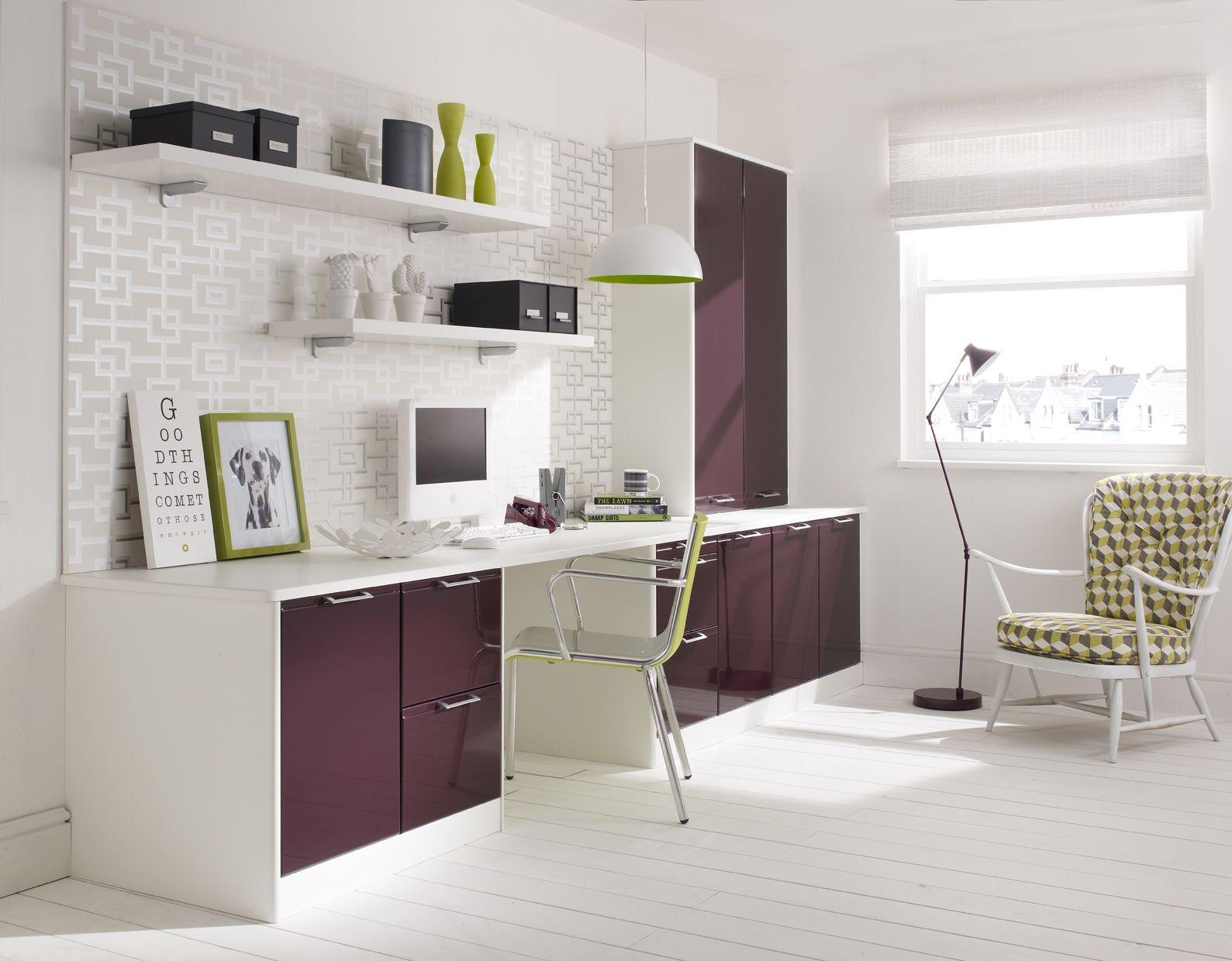 marvellous sleek modern contemporary home office desk design | Sleek Office Space | Contemporary home office furniture ...