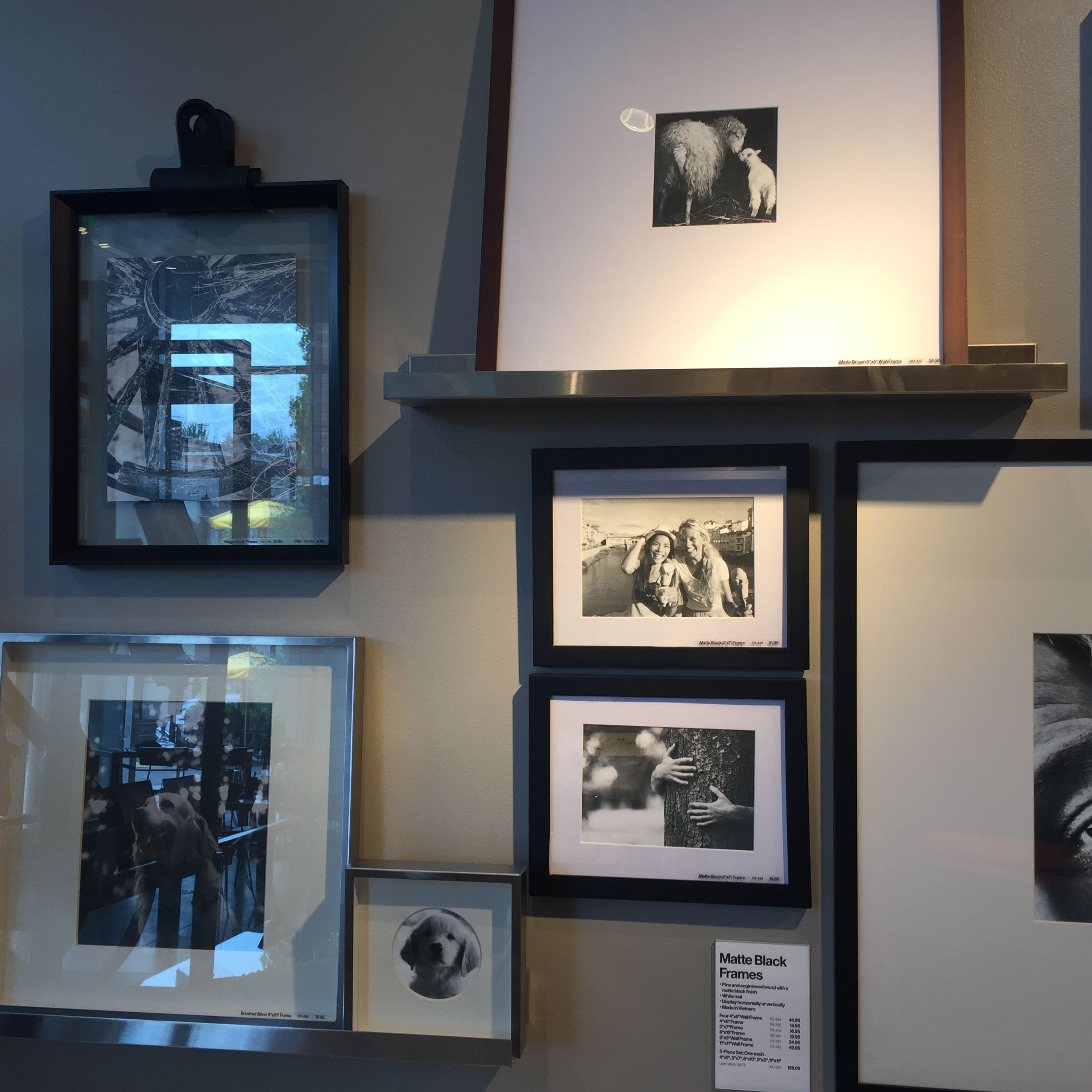 Crate & Barrel | Photo Walls & Picture Frames | Pinterest