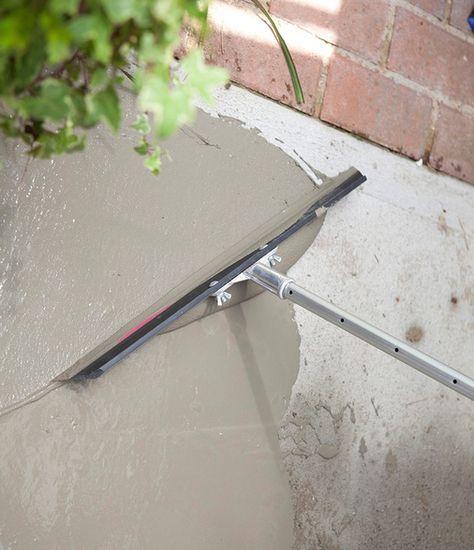 make old concrete surfaces look new again sakrete flo coat is a
