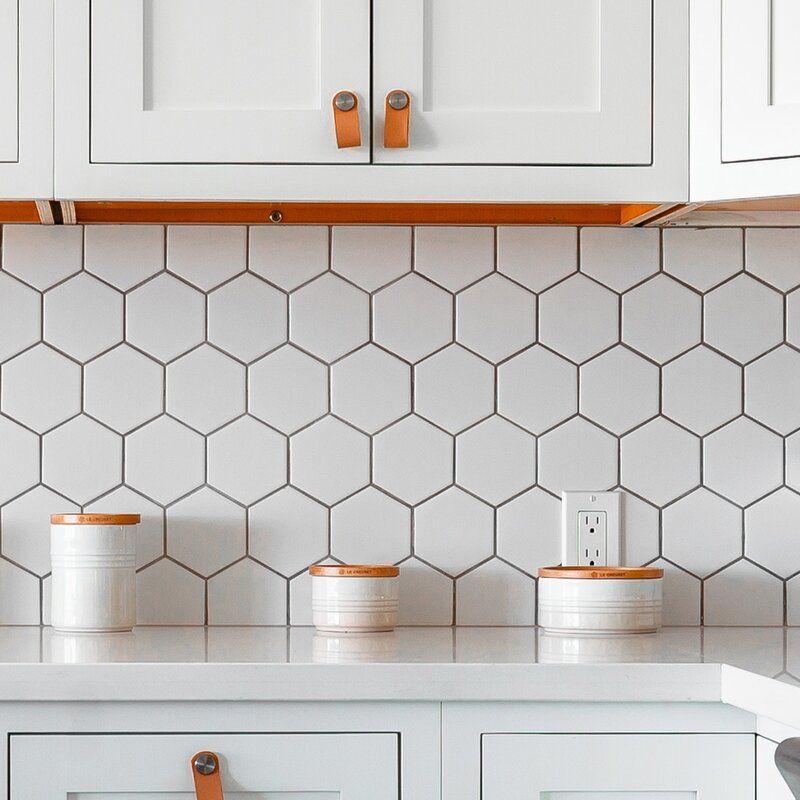 4 X 4 Porcelain Honeycomb Mosaic Wall Floor Tile Honeycomb Tiles Kitchen Honeycomb Backsplash Kitchen Hexagon Tile Kitchen