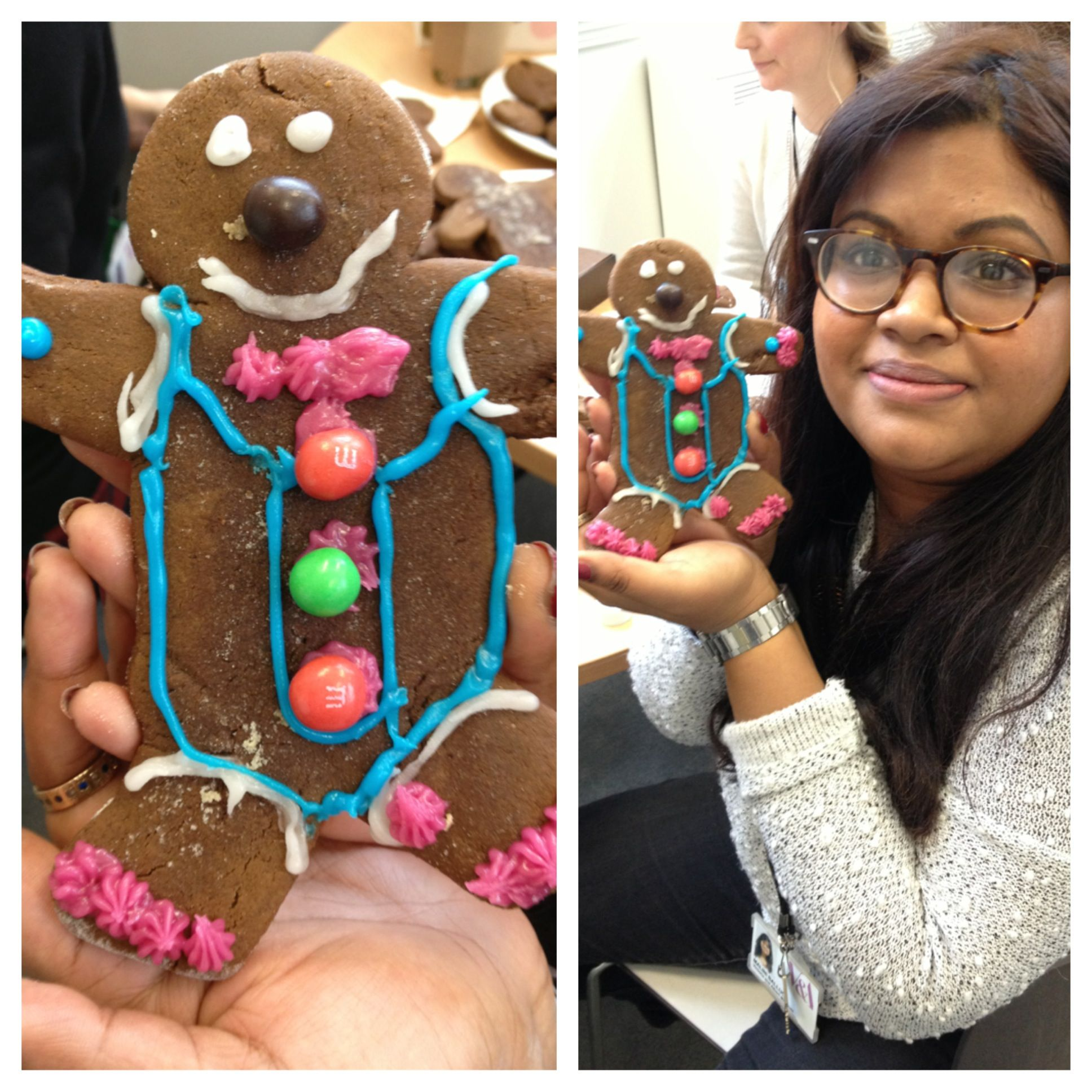 Malini's marvelous man of the gingerbread variety