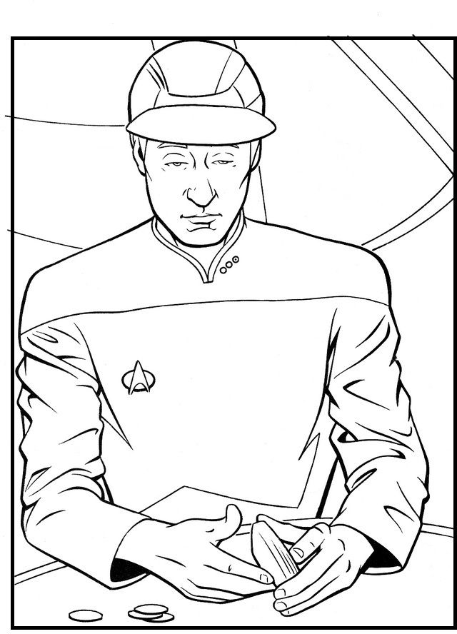 Tired Of Working All Day coloring picture for kids | Trek | Pinterest