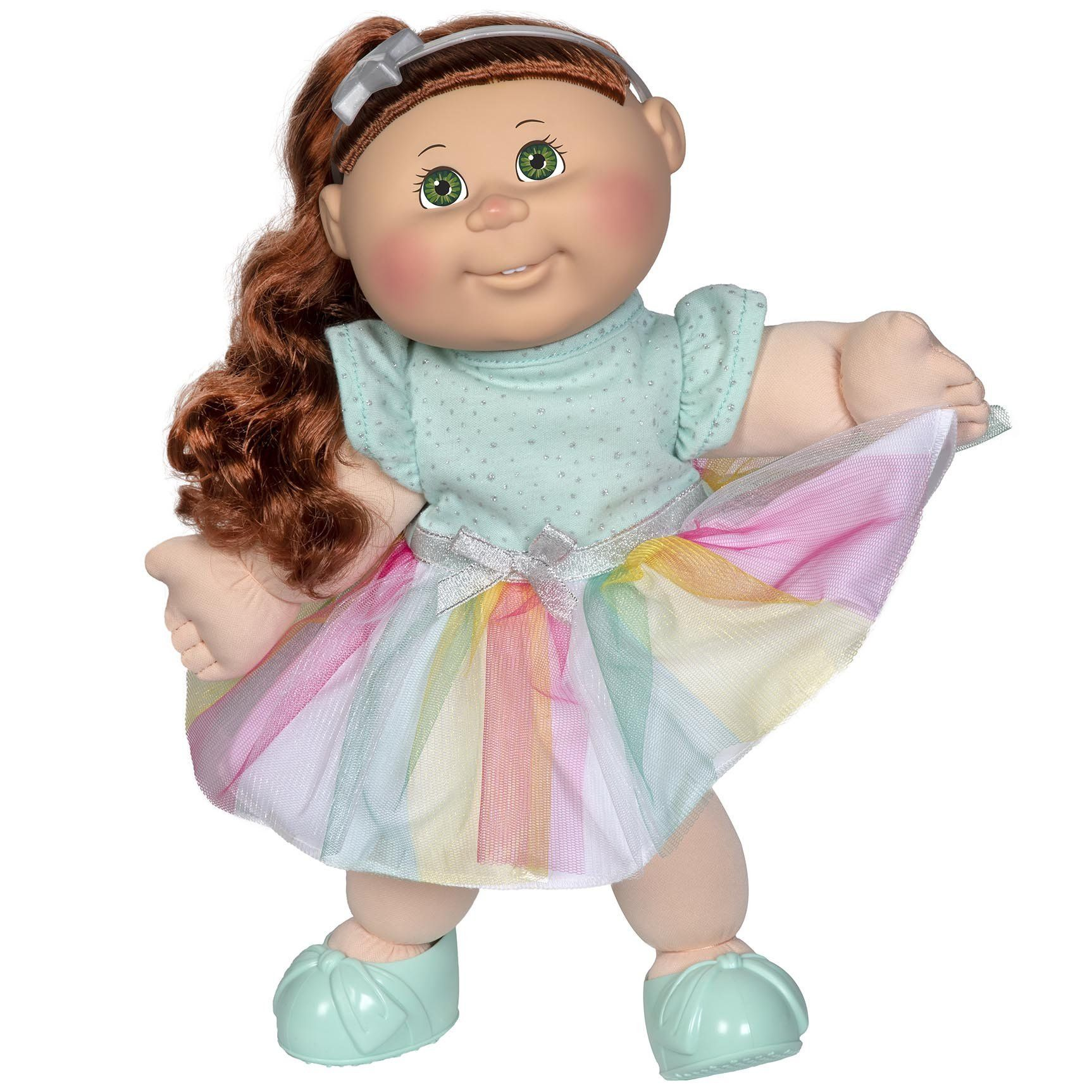 Ruched Girl 14 Inch Cabbage Patch Kids Cabbage Patch Kids Pink Heart Dress Kids