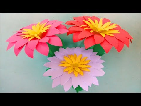 Photo of DIY: paper flowers – How to make flowers with paper – Paper Flower