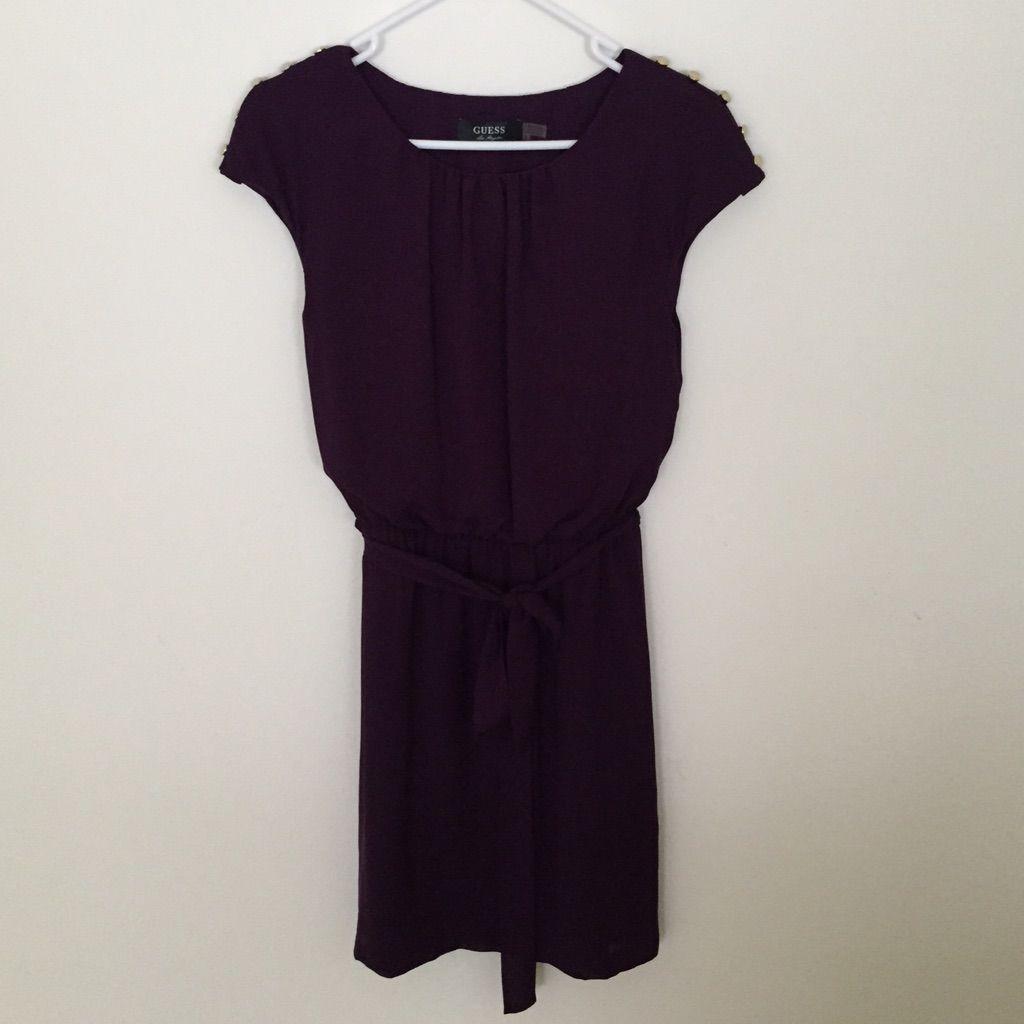Purple Guess Dress